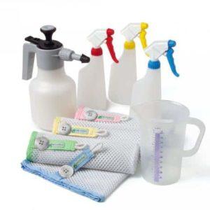 Toebehoren reinigingsmiddelen