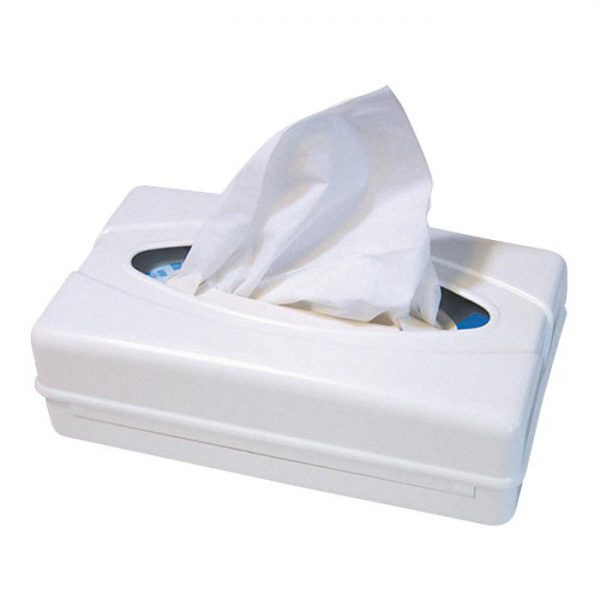 Facial tissue dispensers