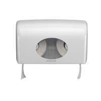 Aquarius duo toilettissue dispenser gevouwen