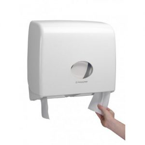 AquariusToilettissue Dispenser Jumbo wit