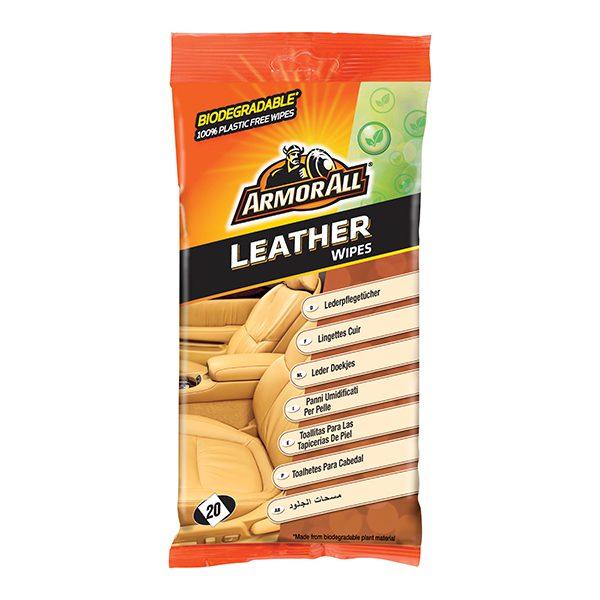 Armor All Bio Leather Wipes 20pcs
