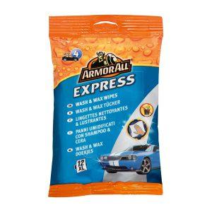 Armor All Express Wash & Wax Wipes 12pcs XL