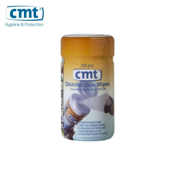 CMT Desinfectie Doekjes Busje 14019N Blauw -