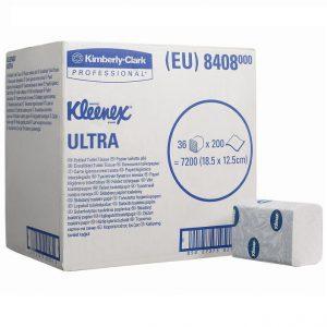 Kleenex Ultra Toilettissue 2-laags 36 rol van 200 vel/doos -   8408