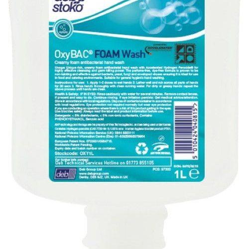 OxyBac Foam Wash -