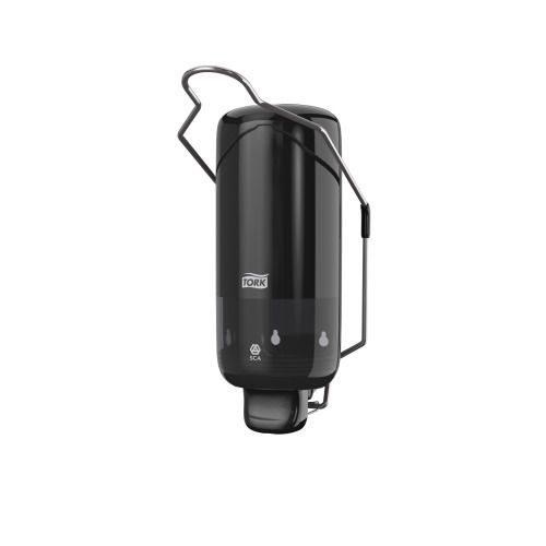 Tork Dispenser Zeep Elleboog Zwart -