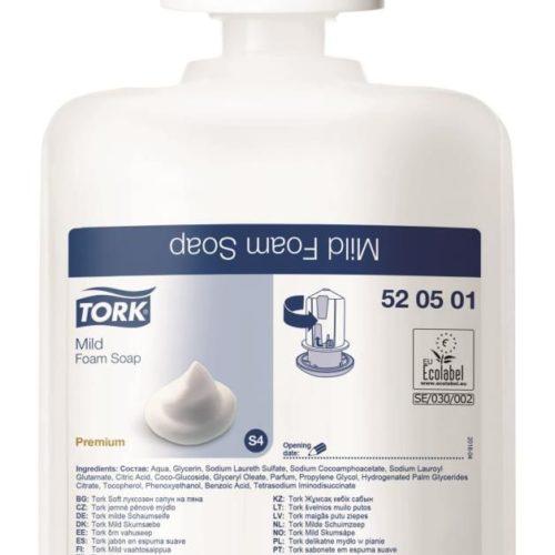 Tork Premium Foam Zeep Mild -   520501