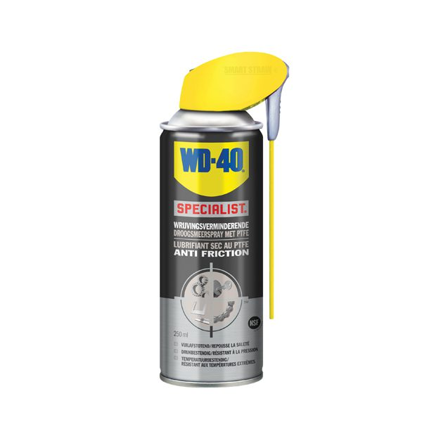 WD-40 31415 Droogsmeerspray met PTFE 250ml