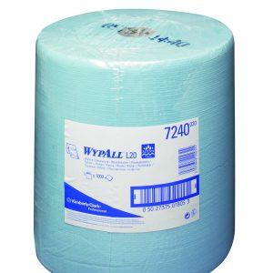 Wypall L10 Extra+ poetsdoek 1-lgs blauw 380 mtr