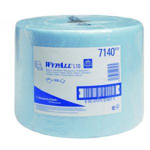 Wypall L10 Extra poetsdoek 1-lgs blauw 570 mtr