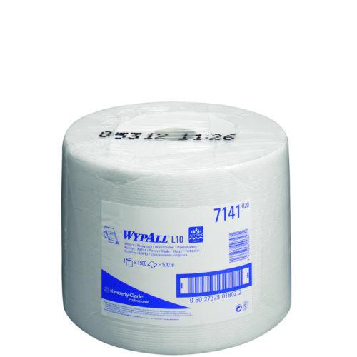 Wypall L10 Extra poetsdoek 1-lgs wit 570 mtr