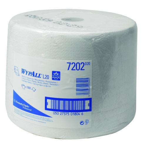 Wypall L10 Extra+ poetsdoek 1-lgs wit