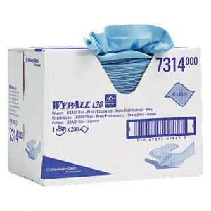 Wypall L20 Extra poetsdoek 2-lgs blauw 280dk