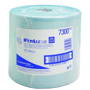 Wypall L20 extra+ poetsdoek 2-lgs blauw 190 mtr
