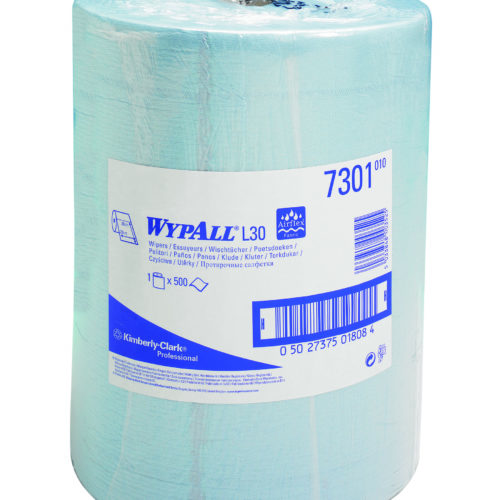 Wypall L20 poetsdoek 2-lgs blauw 190 mtr